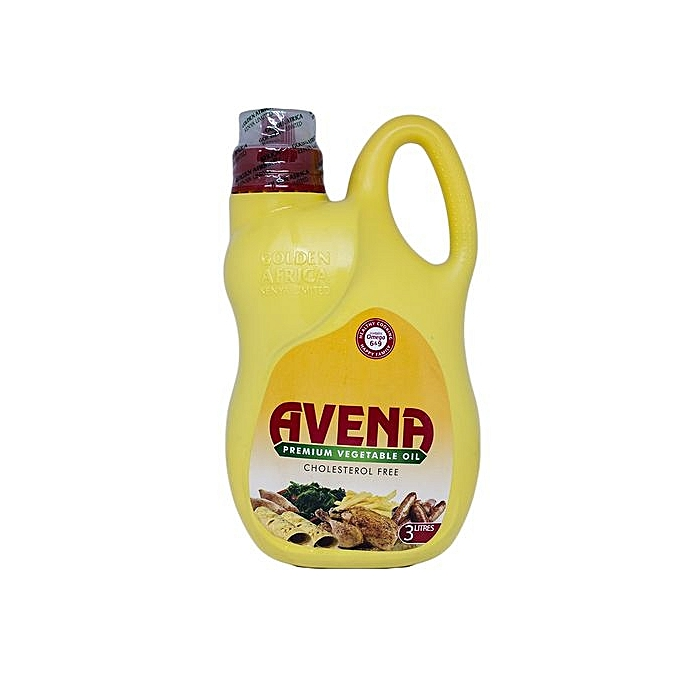 Avena Premium Cholesterol Free Vegetable Cooking Oil - 3 Litres