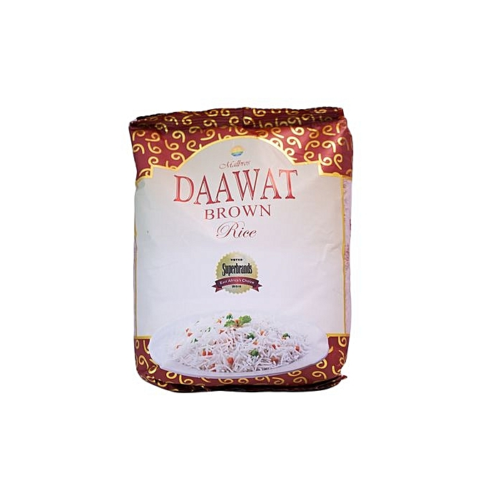 DAAWAT BROWN RICE 1KG
