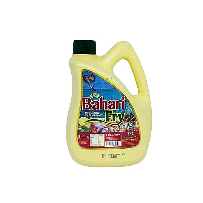 Bahari Fry Vegetable Cooking Oil - 2 Litres